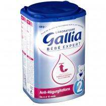 【含运费】法国达能Gallia防吐奶粉2段 800g 6罐 厚箱装 超强保护