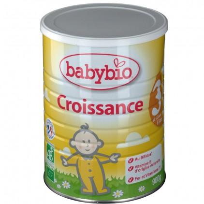 【含运费】法国伴宝乐Babybio 成长阶段3段(1-3岁)900g 6罐 厚箱装 超强保护