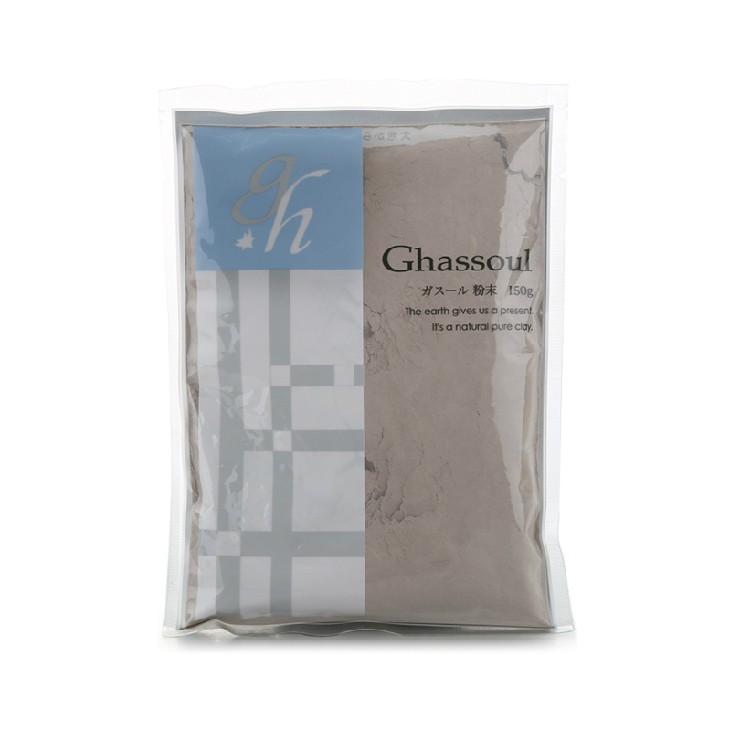 COSME美妆大赏第1名 Ghassoul摩洛哥无添加高岭土粘土面膜 粉状 150g 深层清洁