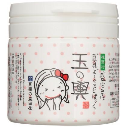 新版 日本豆腐盛田屋 豆腐豆乳乳酪面膜 150g 美白保湿 梨花推荐 乐天销量第一的明星产品 Rinka