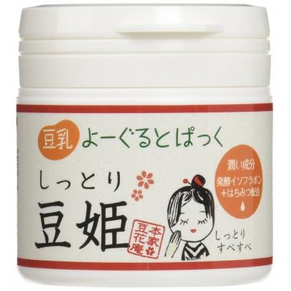 日本 本家豆花庵 豆姬酸奶面膜 150g 超滋润断货王