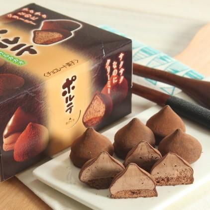 日本Meiji明治 冬之恋雪吻松露忌廉松露可可夹心巧克力 冬季限量