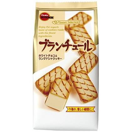 日本BOURBON布尔本夹心奶油曲奇饼干
