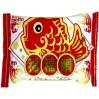 日本名糖meito福福鲷巧克力威化 鱼造型饼干 喜庆版年年有余
