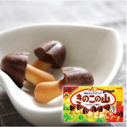日本明治Meiji蘑菇山牛奶巧克力
