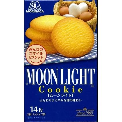 日本森永Morinaga Moonlight月光牛油小麦曲奇饼14枚入
