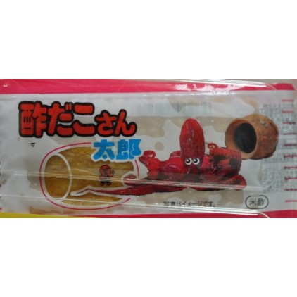 独家! 日本小吃菓道蒲烧さん太郎烤章鱼 鱼肉干 鱼片干3g 米醋酸甜味