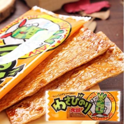 日本小吃菓道蒲烧さん太郎烤鳗鱼 鱼肉干 鱼片干3g 芥末