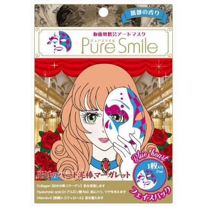 日本PURE SMILE假面舞会 红玫瑰公主 脸谱面膜 单片