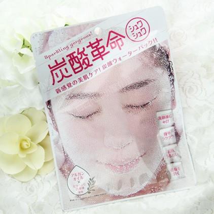 日本碳酸/炭酸革命 美肌洗脸式面膜单片入 控油缩毛孔祛痘 活细胞