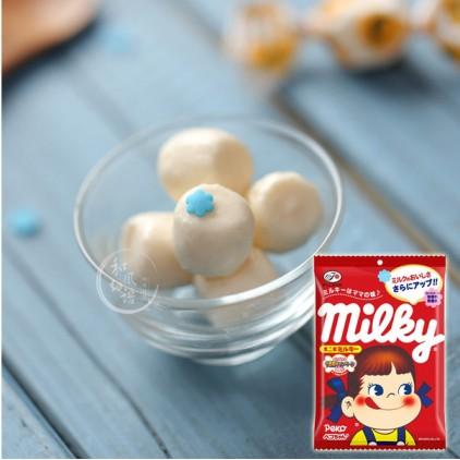 日本Fujiya不二家PEKO牛奶妹奶糖 北海道优质牛乳120g