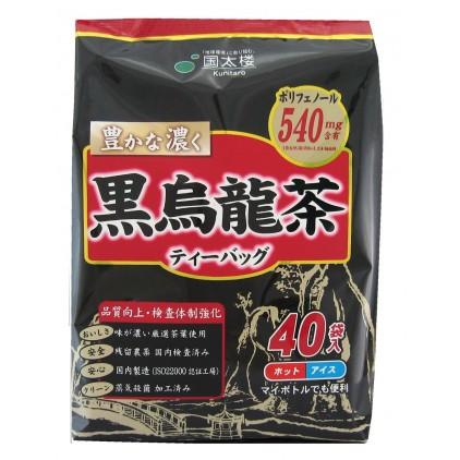 日本国太楼黑乌龙茶 油切 阻断脂肪 可冷/热水冲泡 40袋 减肚腩 保持健康 清理肠胃 米娜推荐