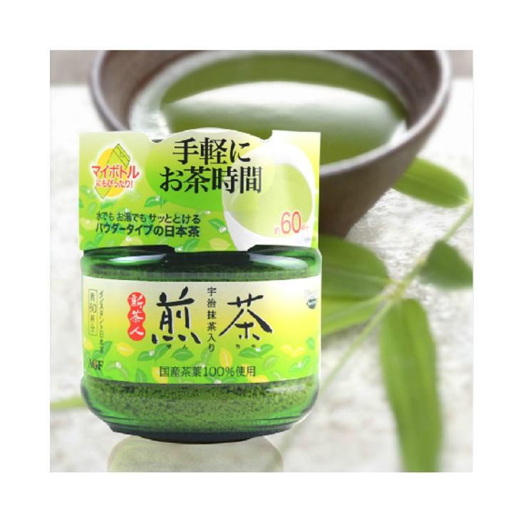日本AGF宇治抹茶粉 煎茶约60杯量48g 美颜抗氧化