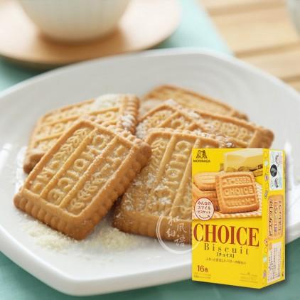 日本MORINAGA森永Choice纯正小麦黄油脆香曲奇饼干