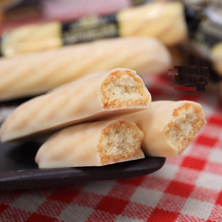 日本零食布尔本BOURBON芝士奶油白酥条 112g 16本入