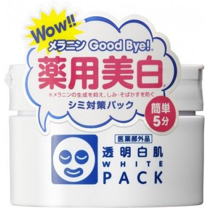 日本石泽研究所透明白肌药用美白保湿修复面膜 瓶装