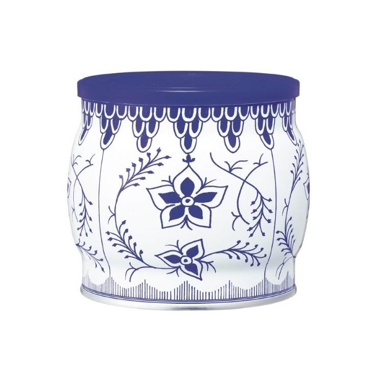 日本零食哥本哈根迷你曲奇饼干青花瓷250g罐装