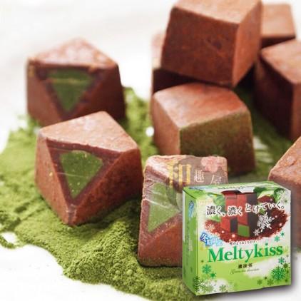 日本Meiji 明治 Meltykiss 雪吻特级牛奶抹茶味巧克力 情人节必选