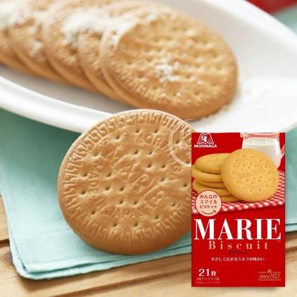 日本零食森永MORINAGA 玛丽MARIE 牛奶小麦曲奇饼干 21枚