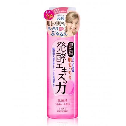 日本Kose高丝黑糖精保湿锁水化妆水 爽肤水 180ml 高保湿锁水