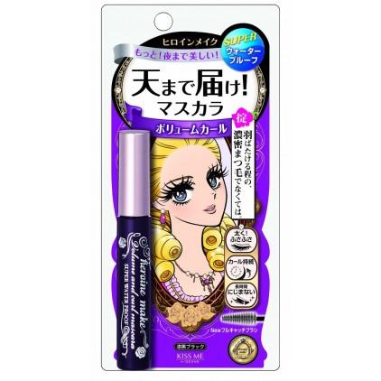 日本Kiss Me梦幻泪眼防水防晕 纤长浓密卷翘 睫毛膏6g 浓密款