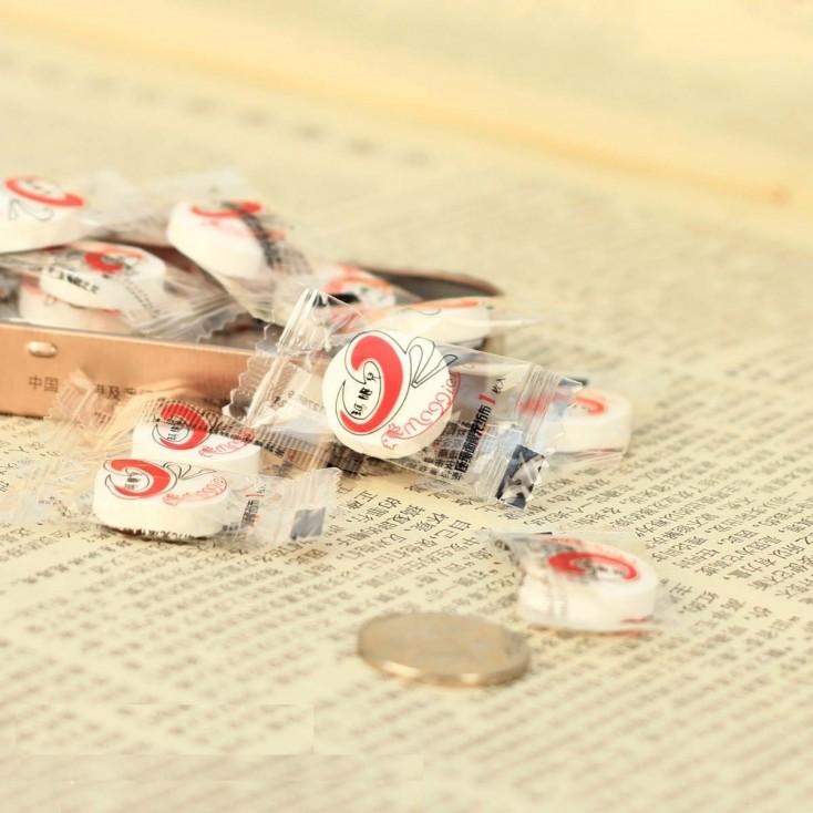 玛姬儿压缩面膜无纺布10枚 独立包装的面膜纸 纸膜
