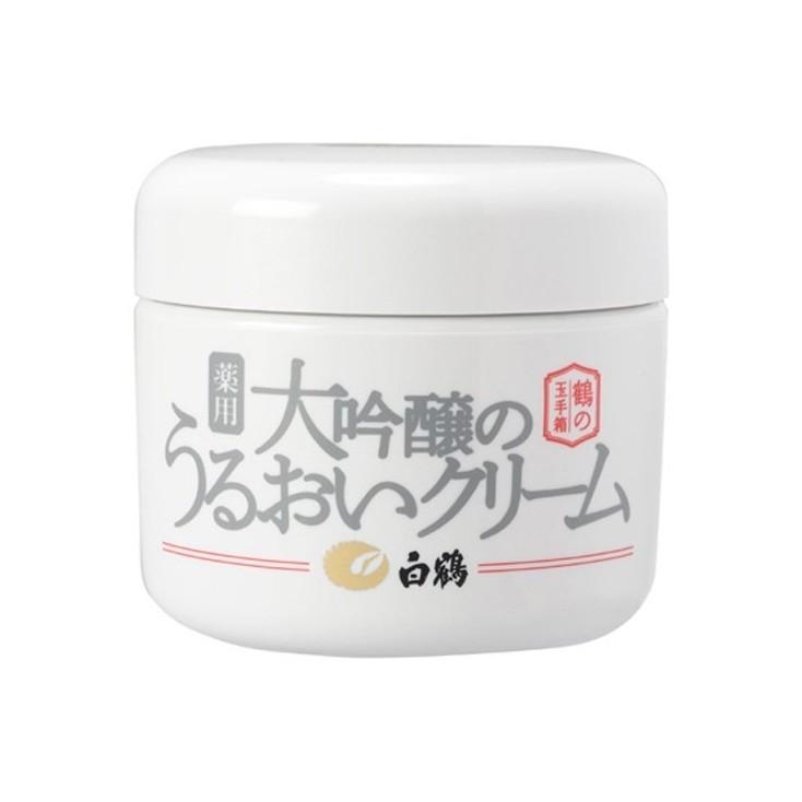 日本白鹤鶴の玉手箱大吟醸水嫩保湿面霜 90g all in one 高效保湿霜