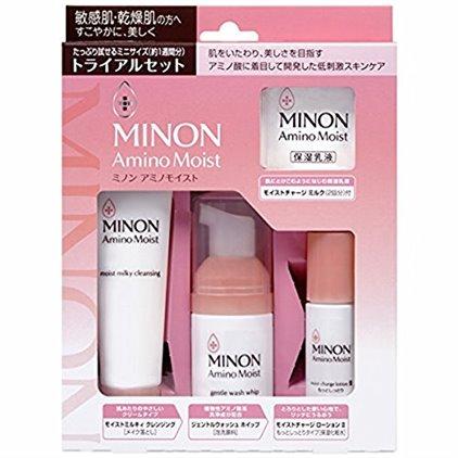 日本MINON氨基酸保湿套装 COSME大奖第一