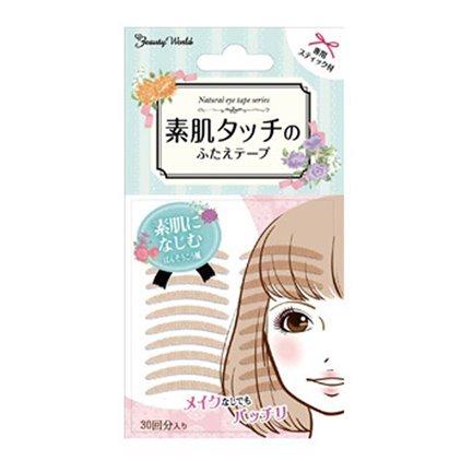 日本Beauty World Natural 素肌双眼皮贴 超级隐形