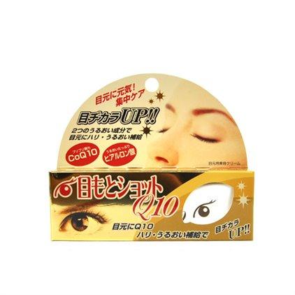 日本 Cosmetex Roland Q10玻尿酸明眸修护紧肤眼霜 20g