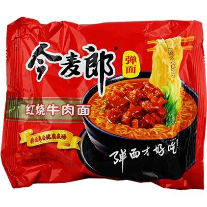 今麦郎弹面红烧牛肉面 /JinMaiLang Soupe de nouilles à saveur de beuf 110g