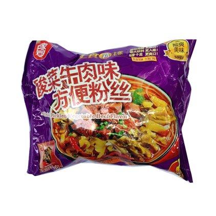 白家方便粉丝酸菜牛肉 / Baijia VERMICELLE à saveur de choucroute beuf 110g
