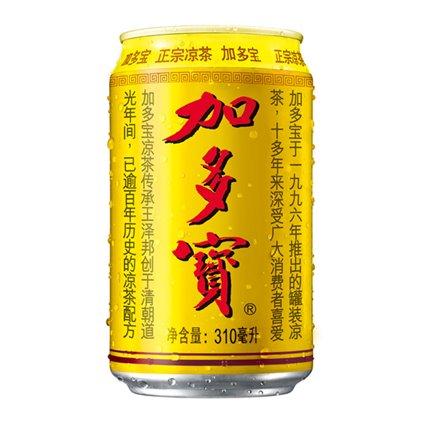 加多宝 凉茶/JiaDuoBao thé d'herbes 310ml