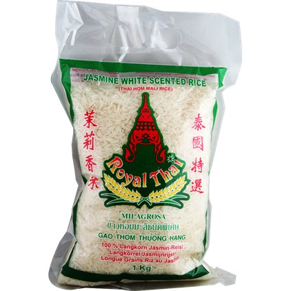 Royal Thai 茉莉香米/Royal Thai Riz au jasmin 1kg