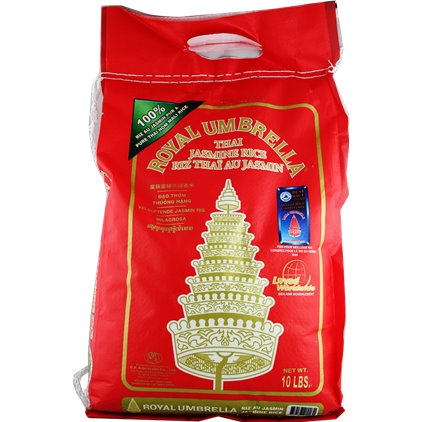 Royal Umbrella 皇族金辉 泰国茉莉香米/Royal Umbrella Thai Riz au jasmin 4.5kg