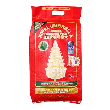 (10Kg) Royal Umbrella 皇族金辉 泰国茉莉香米/Royal Umbrella Thai Riz au jasmin 10kg