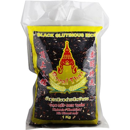Royal Thai泰国顶上黑糯 (黑米/黑糯米) / Royal Thai riz gluant noir 1kg