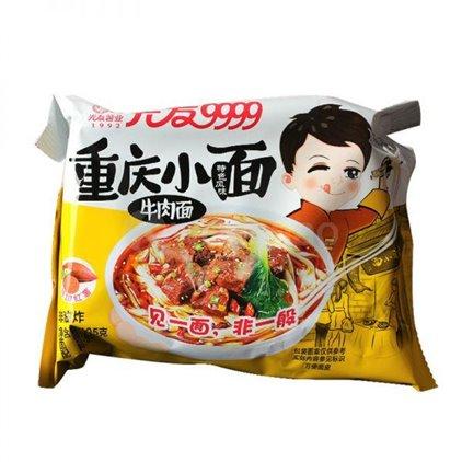 光友 重庆小面 牛肉面/Guangyou Chongqing Soupe de nouilles à saveur de beuf 105g
