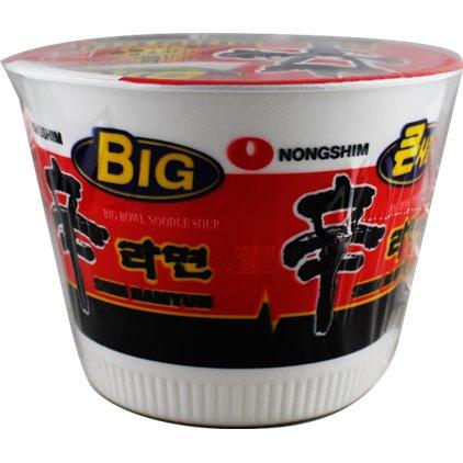 韩国农心经典辛拉面 乌冬面 (碗面) / Nongshim Big Shincup Soupe de nouilles udon 111g