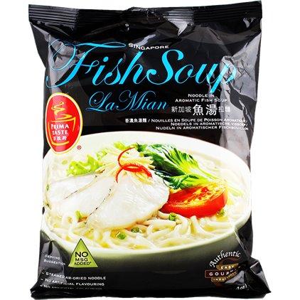 LV等级的泡面-百胜厨新加坡鱼汤拉面 / PrimaTaste Nouilles en soupe de poisson aromatique 154g