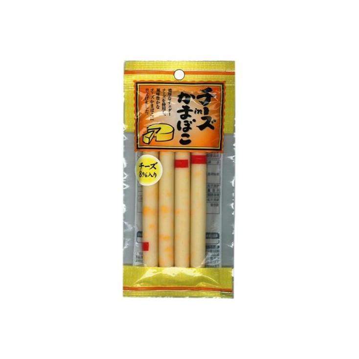 日本原产 メイホク高钙芝士鱼肠鱼肉肠4本入 60g
