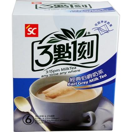 台湾原产 3点1刻 经典伯爵奶茶6包入 120g (20g*6)