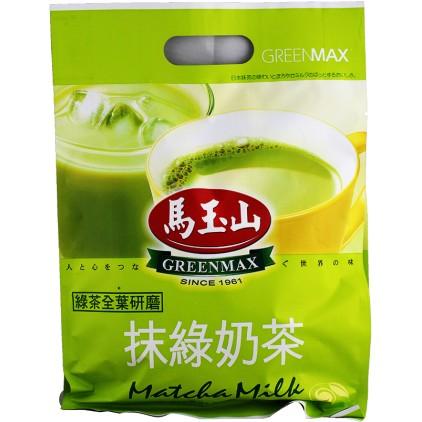 台湾原产 马玉山抹绿奶茶 (16小包 大袋装) 320g