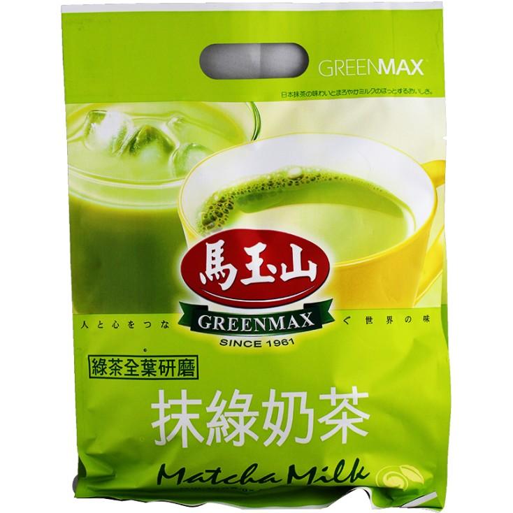台湾原产 马玉山抹绿奶茶 (大袋装) 320g