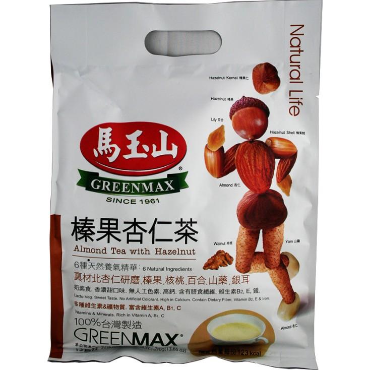 台湾原产马玉山 榛果杏仁茶 30g*13 390g