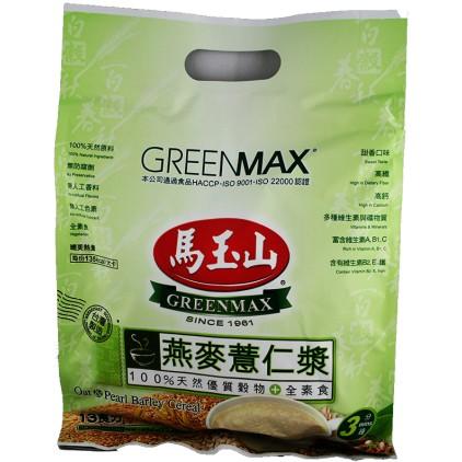 台湾原产马玉山 燕麦薏仁浆 38g*13 494g