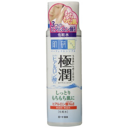 (化妆水)日本原装 新版 ROHTO乐敦 肌研极润 超保湿化妆水 170ml