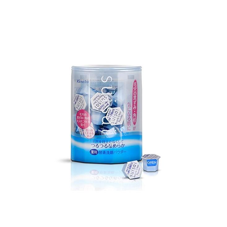 日本原装 Suisai 酵素药用洗颜粉 去角质黑白头 洁面粉 0.4g*32个 Cosme大赏!