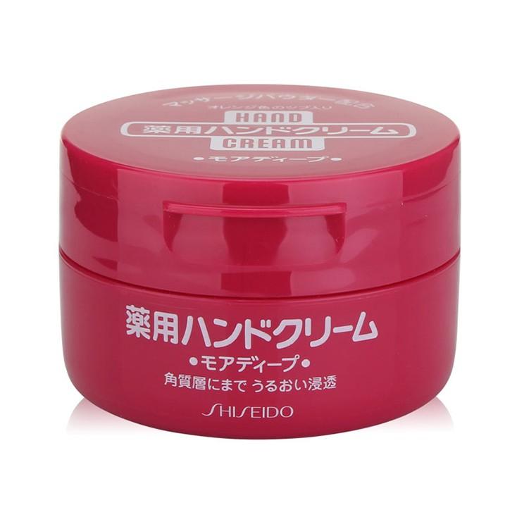 日本原产!资生堂经典尿素护手霜100g 软化角质 深层滋养