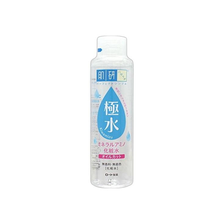 日本乐敦ROHTO肌研玻尿酸极润化妆水 矿物极水 180ml 极水